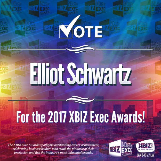 Nasstoys' Elliot Schwartz Nominated for Businessman of the Year 2017 XBIZ Exec Awards