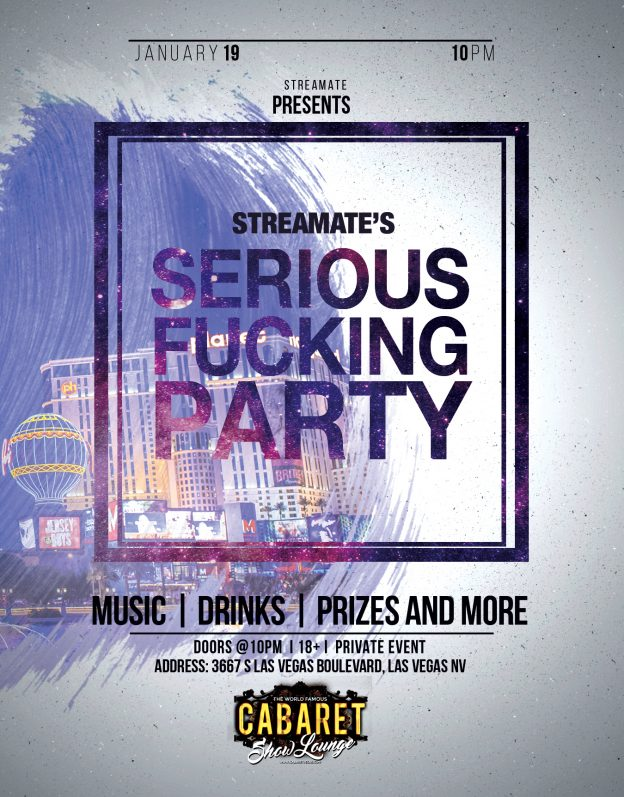 Streamate Announces Model Appreciation Cocktail Party