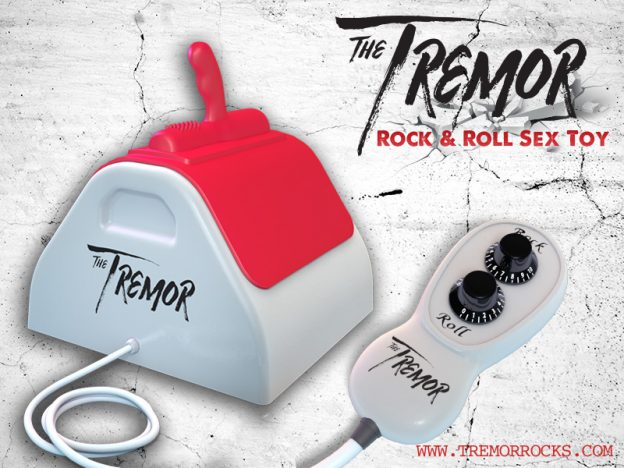 New Rock & Roll Sex Toy 'The Tremor' is Now Shipping