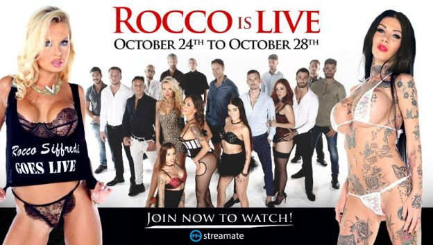 Streamate and Rocco Siffredi Announce Exclusive Partnership