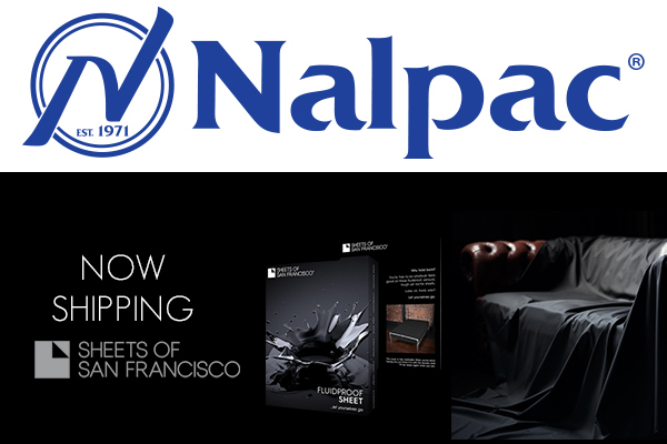 Nalpac Now Shipping Sheets of San Francisco Products