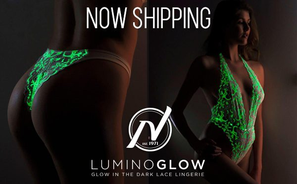 Nalpac Now Shipping Glow in the Dark Lingerie from LuminoGlow