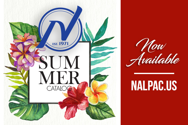 Nalpac Publishes 2018 Summer Catalog