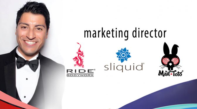 Sliquid Promotes Erik Vasquez to Marketing Director