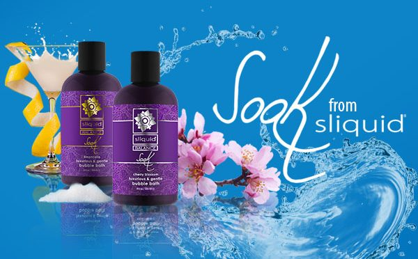 Sliquid Now Shipping New Product SOAK
