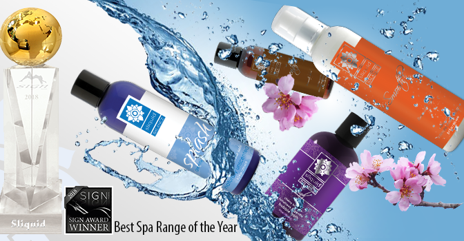 Sliquid Wins Sign Magazine Award for Best Spa Range of the Year