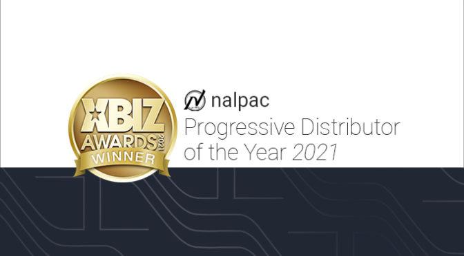 Nalpac Wins 2021 XBIZ Awards Progressive Distributor Of The Year