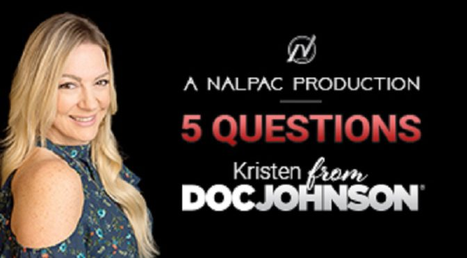 """Nalpac Launches New Web Series """"5 Questions"""", First Episode Featuring Doc Johnson"""