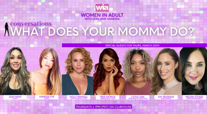 """""""Women in Adult"""" Present Bi-Weekly Clubhouse Chat with Hosts Leah and Vanessa"""