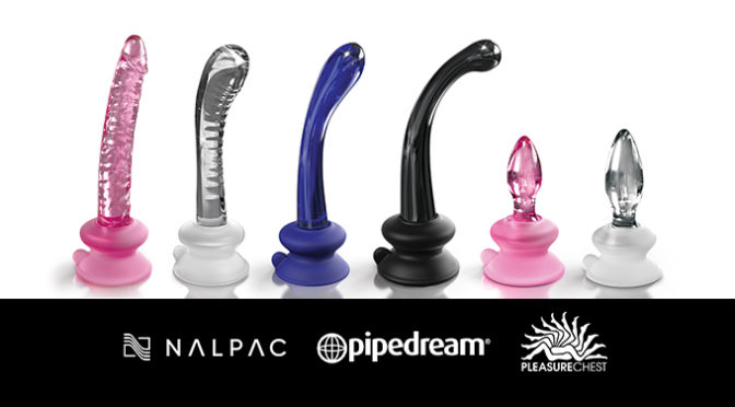 Nalpac and Pipedream Partner For Exclusive Launch Of Icicles Suction Cup Dildos
