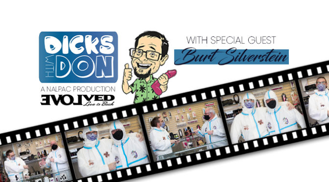 Evolved Novelties Featured On Nalpac's Newest 'Dicks with Don' Masturbation May Webisode